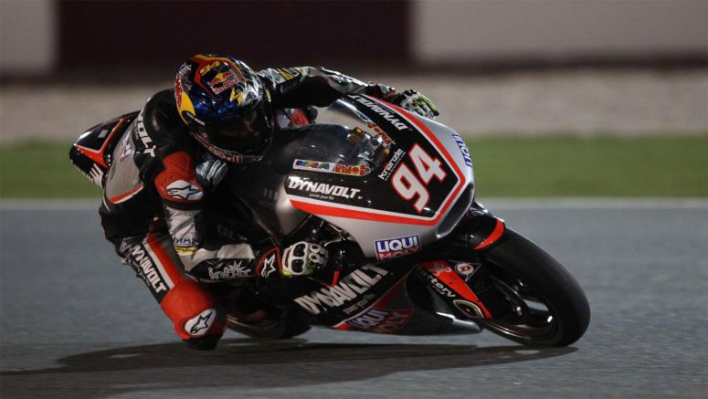 Honda : Folger the fastest rider in Moto2 after FP1 and FP2 Qatar 2016