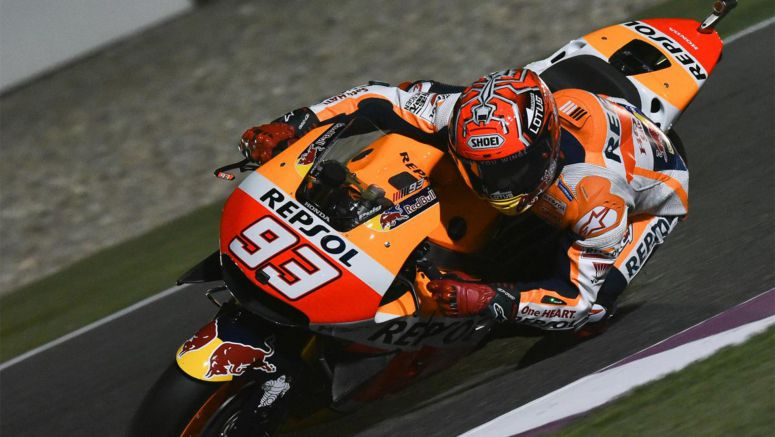 "Honda MotoGP : Marquez: ""It was not the easiest FP1 I've ridden in"" Qatar 2016"