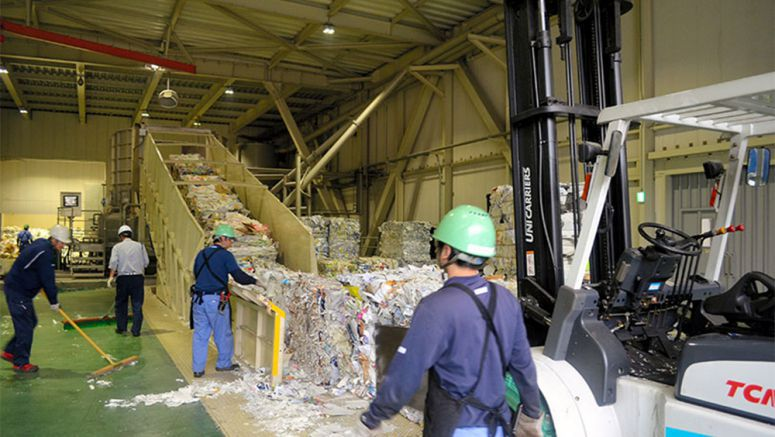 Innovative paper recycling plant achieves 'zero emission' waste