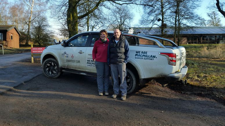 Mitsubishi : Dealership Team Takes on 4x4 Challenge For Macmillan Cancer Support