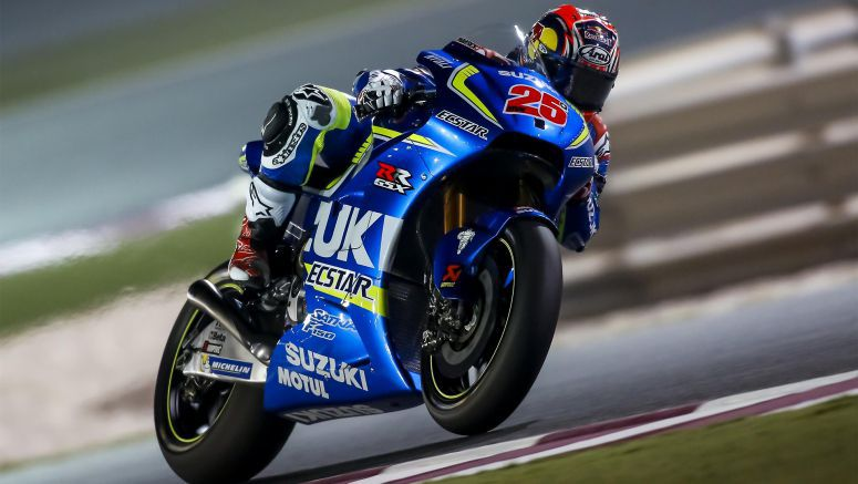 MotoGP : Vinales and Team Suzuki Ecstar On Pace in Qatar