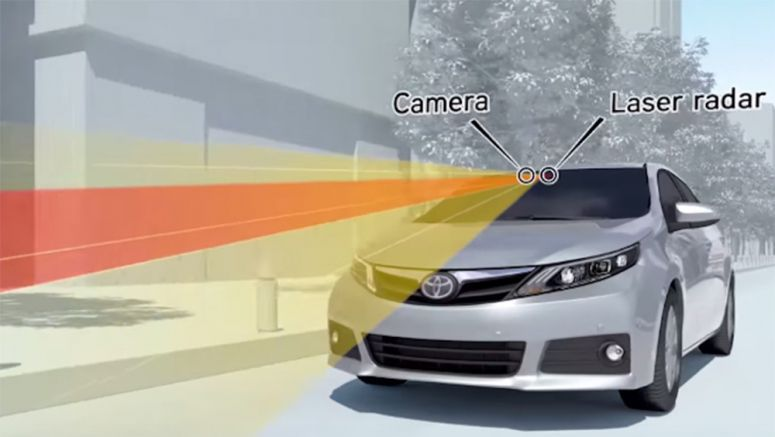 Almost Every Toyota Model Will Feature Automatic Emergency Braking by 2017