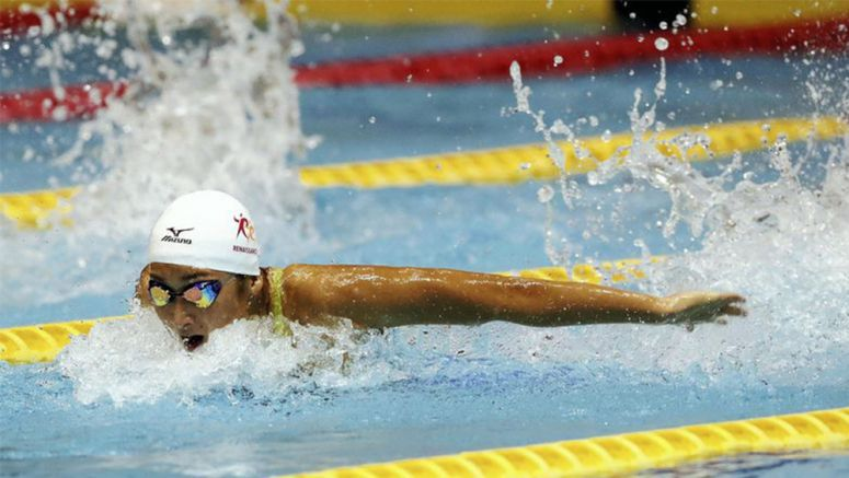 Teen Ikee gains Rio ticket in 100 fly