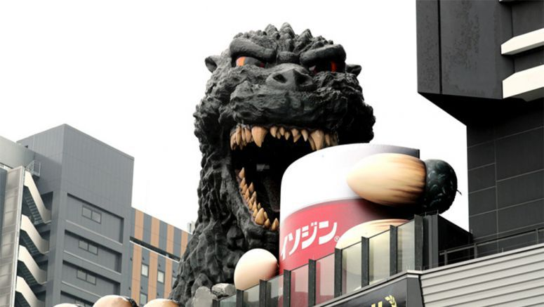 Godzilla gargles in ad campaign that's a breath of fresh air