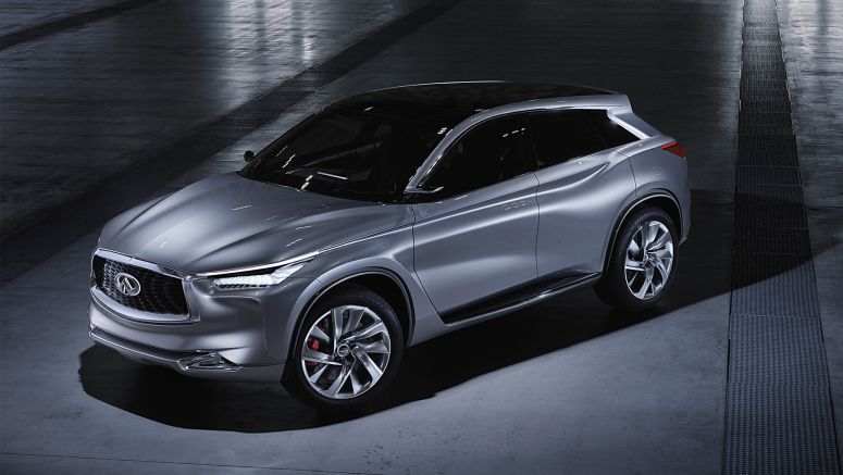 QX Sport Inspiration: A daring new SUV vision from Infiniti