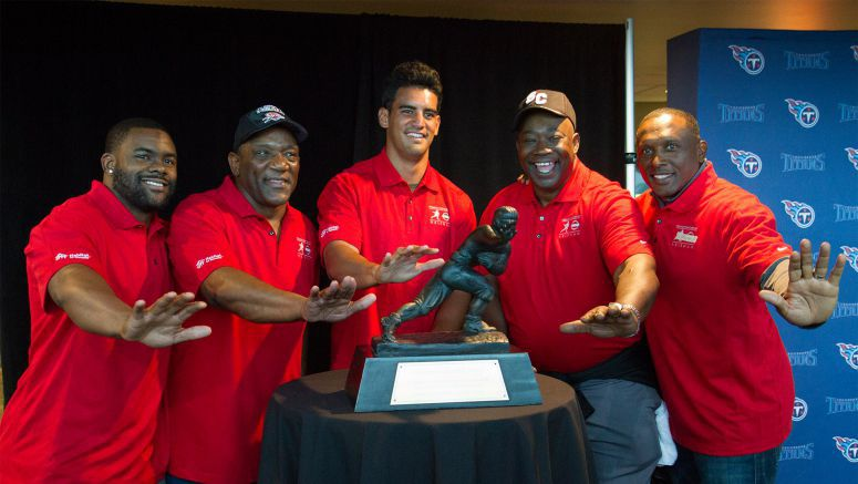Nissan and Heisman Trust partner with Habitat for Humanity to build a real 'Heisman House' in Nashville