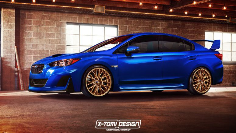 Subaru Impreza WRX STI Can't Come Soon Enough