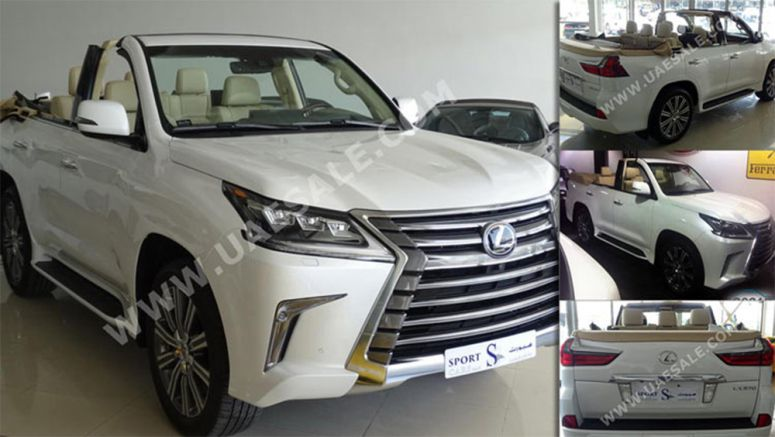 2016 Lexus LX570 With A Chopped Roof Is Listed For $350,000