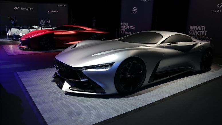 Infiniti Brings Its 2014 Concept Vision GT To Gran Turismo Sport Launch