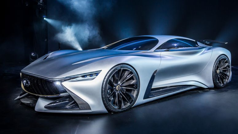 Infiniti Concept Vision Gran Turismo makes its appearance at the Copper Box in London