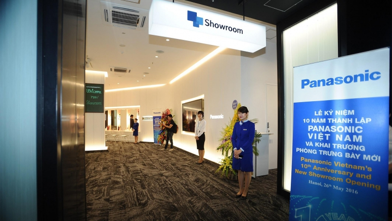 Panasonic Renews its Showroom in Vietnam to Showcase