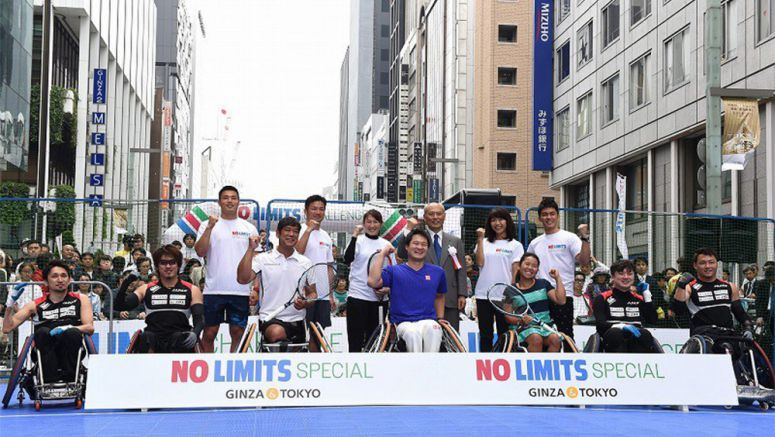 Tokyo event shows off fun of Paralympic sports