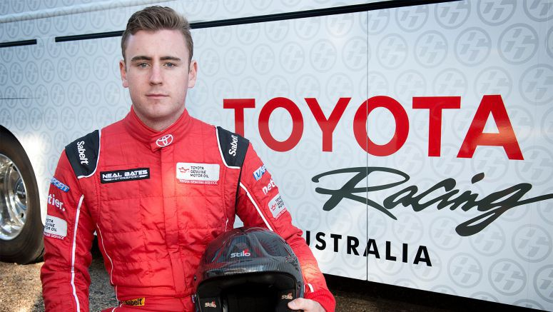 Toyota : Bates Working Hometown Advantage in Canberra's National Capital Rally