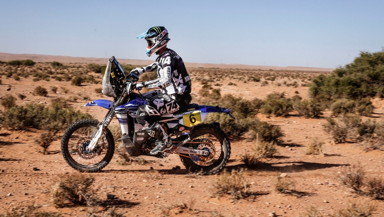 Yamaha In Contention For Final Podium Result After Penultimate Stage At Merzouga Rally
