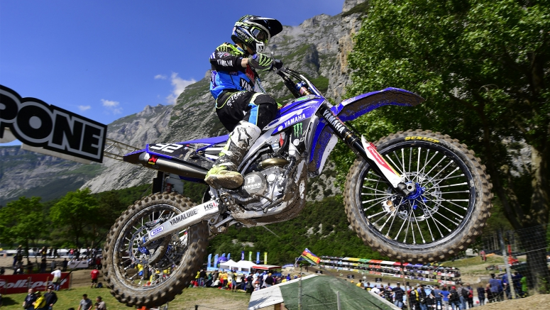 Yamaha : Febvre Charges Back in Trentino 2016