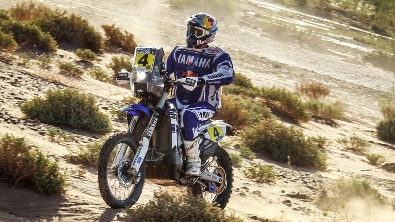 Rodrigues Brings Yamaha Closer To The Top After Stage Three At Merzouga Rally