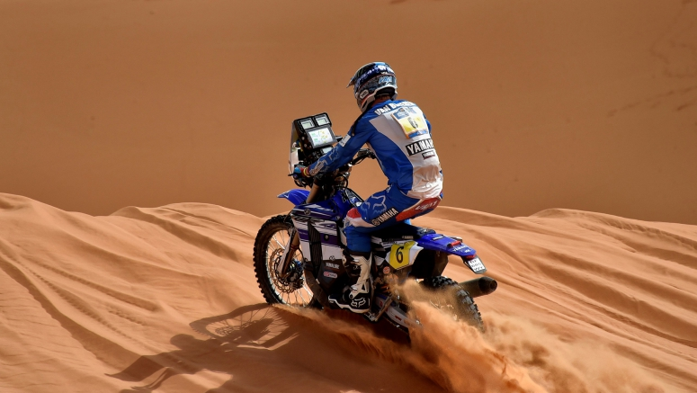 Van Beveren And Yamaha Win Final Stage Of Merzouga Rally 2016