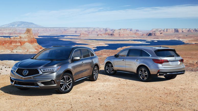 Refreshed 2017 Acura MDX Launches with Bold New Styling