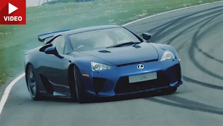 Lexus LFA, RC F Carbon And GS F reviewed by former Stig