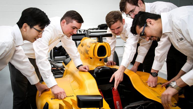 Infiniti offers top U.S. engineering students the Formula One career opportunity of a lifetime