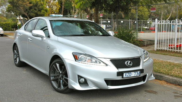 Lexus IS models join Takata airbag recall in Australia