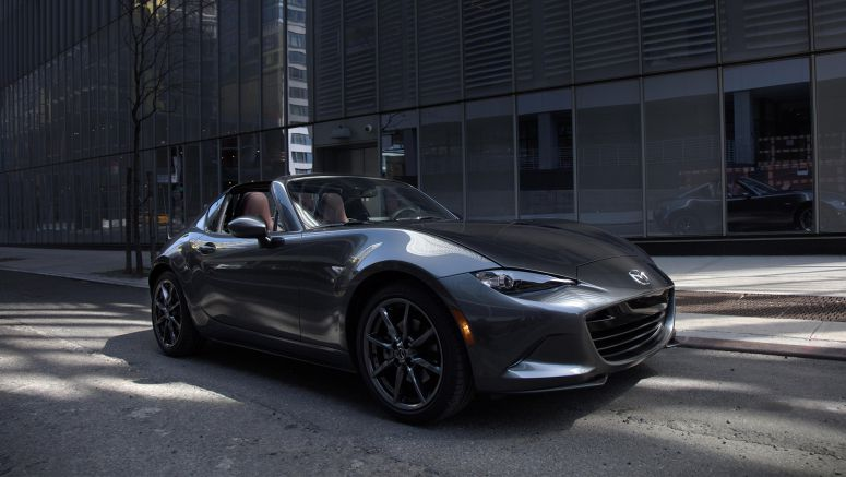 Mazda unveils MX-5 RF at Goodwood