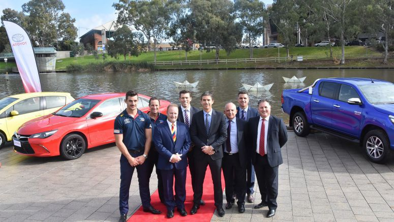 Toyota Extends Crows Sponsorship to 29 Years