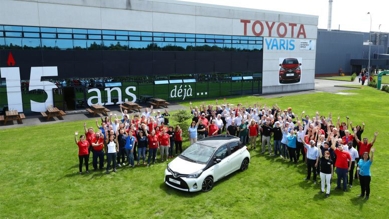 How different is the 3 millionth Toyota Yaris from the very first one?