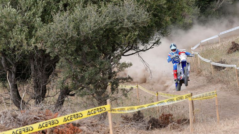 Yamalube Yamaha Official Rally Team Riders Off To A Positive Start At Sardinia Rally