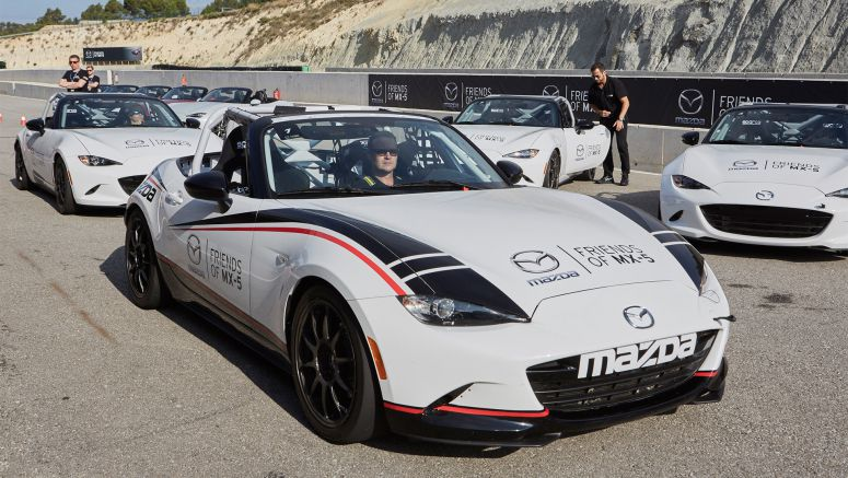 Mazda to send five racers to Global Mazda MX-5 Cup race