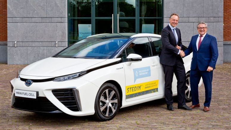 Fuel cell for all: one Dutch company's democratic plan to share the Toyota Mirai