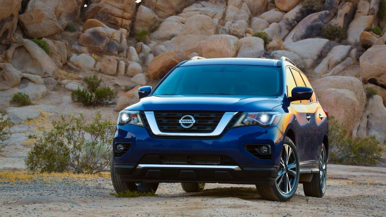 Nissan announces 2017 Pathfinder U.S. pricing