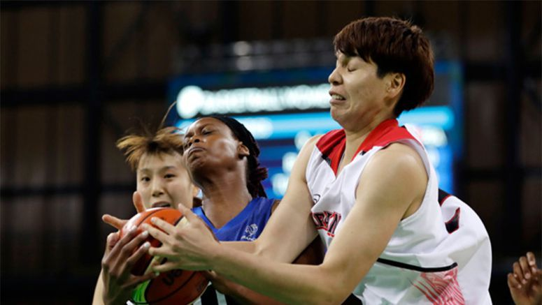 Japan beats France 79-71 to wrap up group play in women's basketball