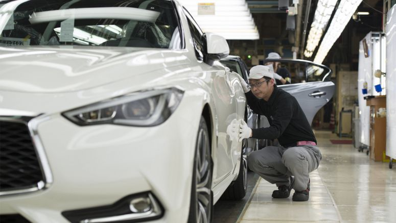 Infiniti Q60 Begins Production In Japan