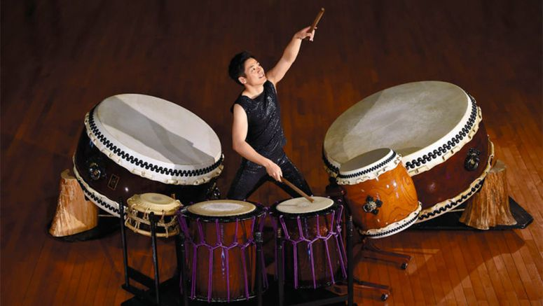 Kodo soloist turns wadaiko dream into reality