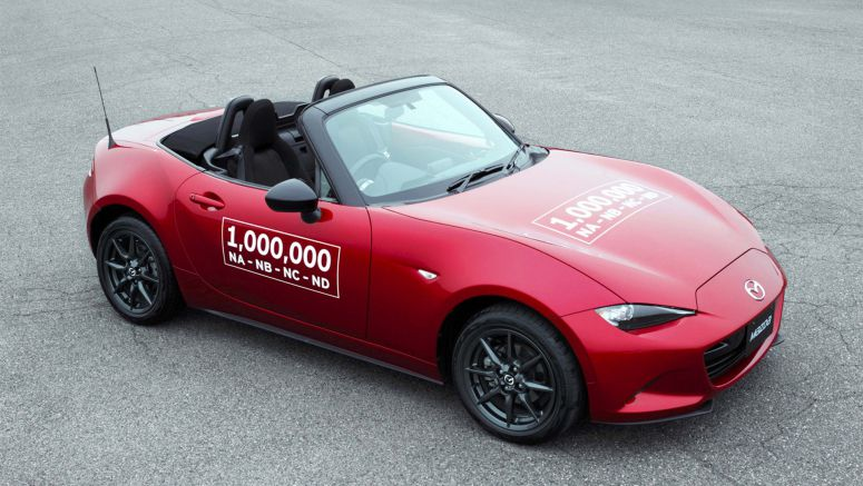 Mazda is Celebrating the Millionth Miata With an Epic Road Trip
