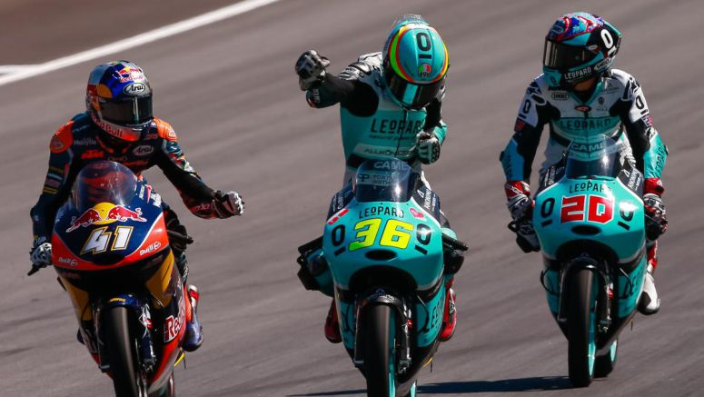 Moto3: Mir takes incredible rookie win in Austrian thriller 2016
