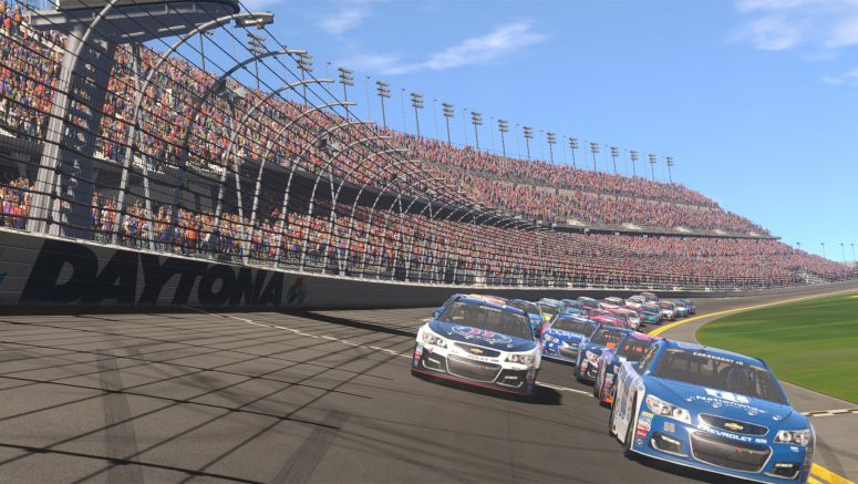 Sony: NASCAR Heat Evolution Features 40-Player Races