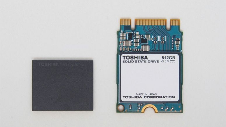Toshiba Ships Samples of 3D Flash Memory-based SSD