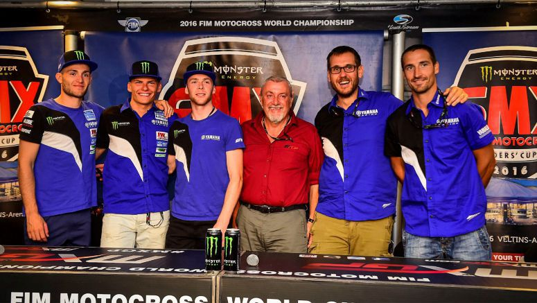 Yamaha Young Power ready for the first SMX Cup