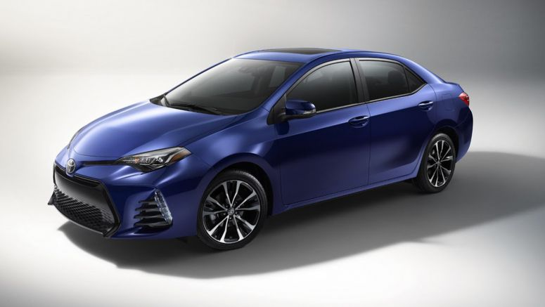 2017 Toyota Corolla Gets Updated Styling & Equipment