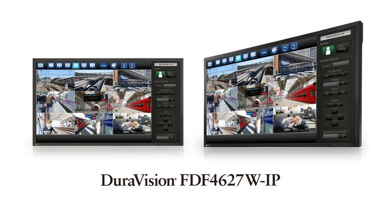 EIZO Announces 46-inch IP Decoding Monitor for Security and Surveillance Environments