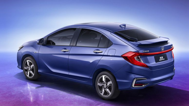 Honda Unveiling Gienia Crossover At Chengdu Motor Show In China
