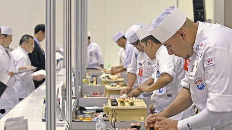 Chefs from around globe vie for Sushi Cup