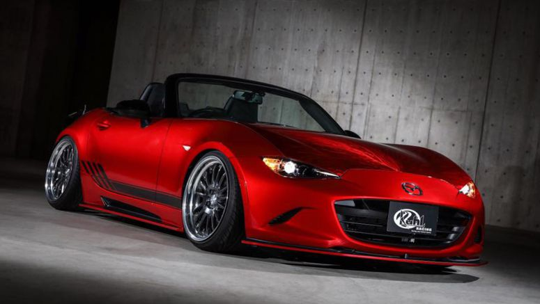 Kuhl Racing's Mazda MX-5 Is As Crazy As You'd Expect