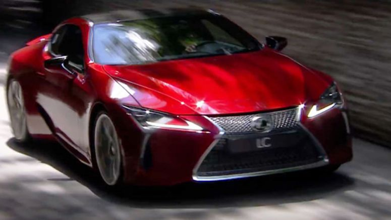 The Lexus LC 500 Unleashed at Goodwood Festival of Speed