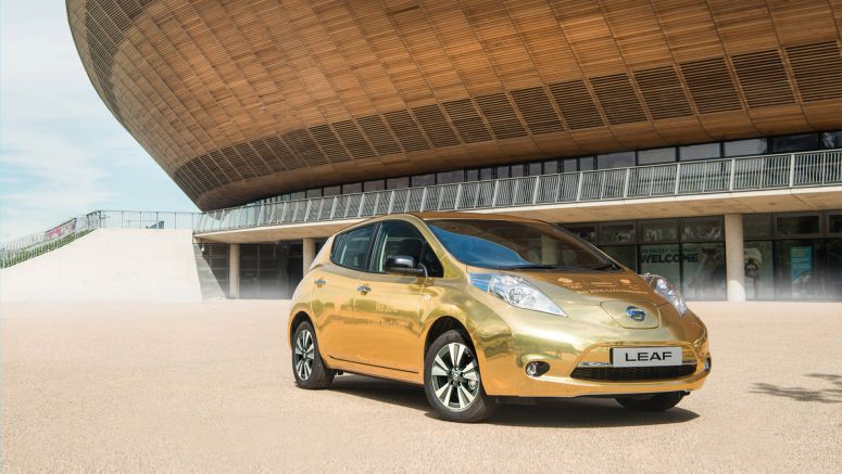 Gold Athlete Rewarded With Golden Nissan Leaf For Rio Success