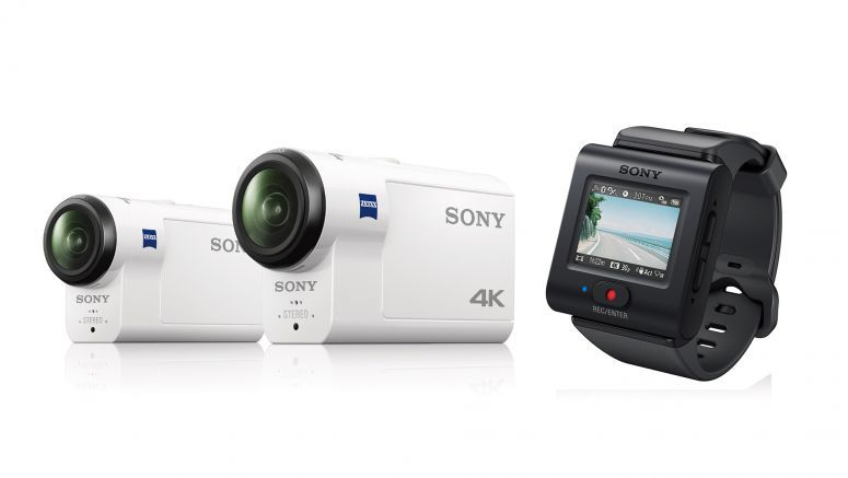 Sony Announces new Flagship 4K and HD Action Cams with Superior Image Stabilization