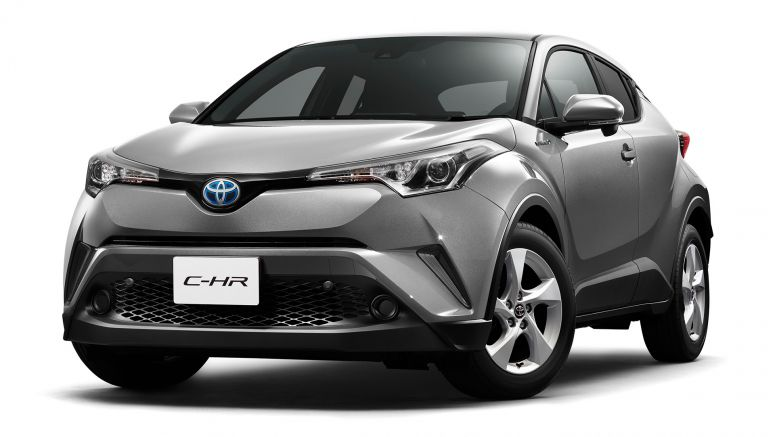 The Toyota C-HR compact crossover will be a hybrid