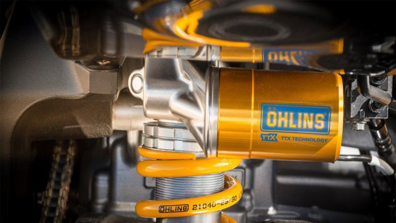 Latest Ohlins Suspension Available From Yamaha Dealers